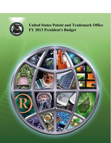 President's Budget - U.S. Patent and Trademark Office
