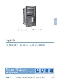 3 Kapitel 3 Holzbrand-Heizeinsätze aus Gusseisen - Buderus