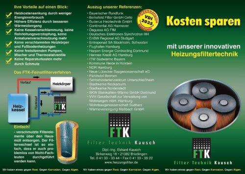 Höhere Effizienz durch besseren - Buderus Heiztechnik GmbH ...
