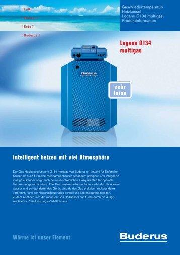 der Logano G134 multigas - Buderus