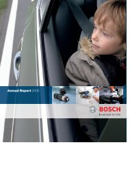 Annual Report 2005 - Bosch worldwide