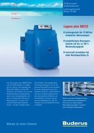 Buderus Logano plus GB225 - Ruhland GmbH