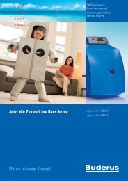 Download (PDF 1.70 MB) - Buderus Heiztechnik AG