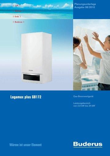 Logamax plus GB172 - Buderus