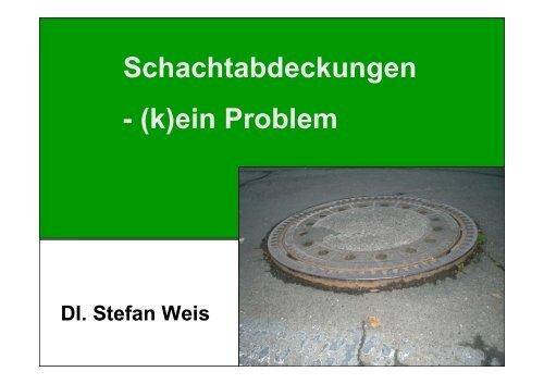 Schachtabdeckungen - (k)ein Problem - Gestrata