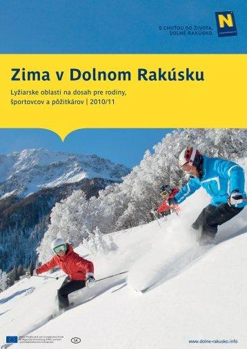 Zima v Dolnom Rakúsku - Dolne Rakusko