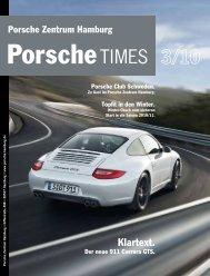 Klartext. - Porsche Zentrum Olympiapark