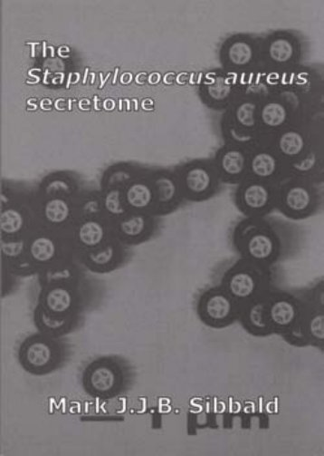 The Staphylococcus aureus secretome - TI Pharma