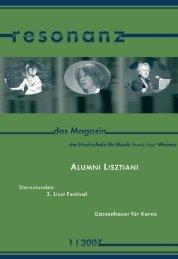 Solo - Hochschule für Musik Franz Liszt