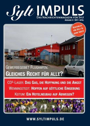 SYLTIMPULS   Das Nachrichtenmagazin für Sylt