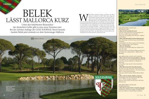 LÄSST MALLORCA KURZ - Club de Golf Novo Sancti Petri: GOLF ...