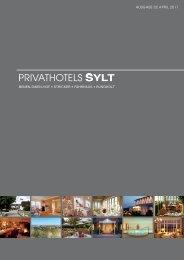veranstaltungskalender 2011 - privathotels sylt