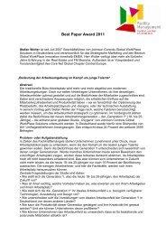 [PDF] Best Paper Award 2011 - Johnson Controls