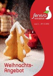 Servisa Extrablatt Weihnachten 2012 - Service-Bund National