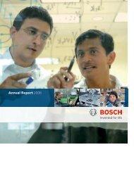 Annual Report 2006 - Bosch worldwide