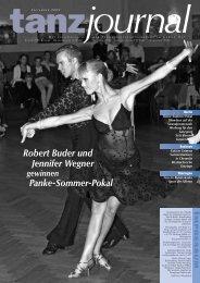 Robert Buder und Jennifer Wegner Panke-Sommer-Pokal - DTV