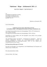 Paderborner – Bürger – Schützenverein 1831 eV - Western-Kompanie