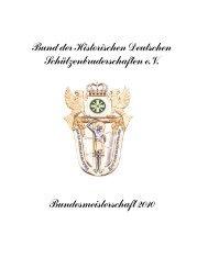 2010 - Bund der Historischen Deutschen Schützenbruderschaften ...