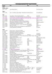 Veranstaltungskalender 2011 Stand 23.05.2011 ... - der Stadt Ahlen