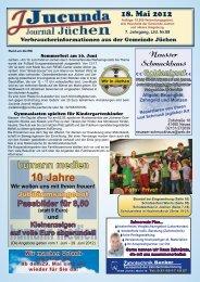 Ausgabe 05 2012 b - Jucunda