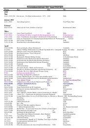 Veranstaltungskalender 2011 Stand 29.03.2011 ... - der Stadt Ahlen