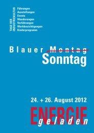 24. + 26. August 2012 - Blauer Sonntag