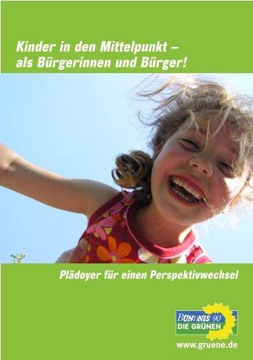 Kinder in den Mittelpunkt – als Bürgerinnen und Bürger!