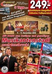 Musikantenstadl in Innsbruck