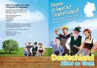 Sooooo schmeckt Deutschland! - Bürger GmbH
