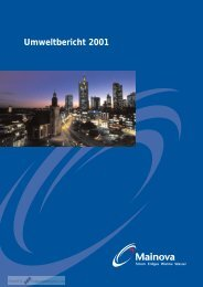 Umweltbericht 2001pdf - CorporateRegister.com