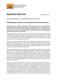 MEDIENINFORMATION - EcoServe International AG