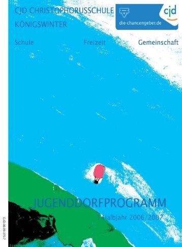 Die CJD Jugenddorf-Christophorusschule auf Spurensuche