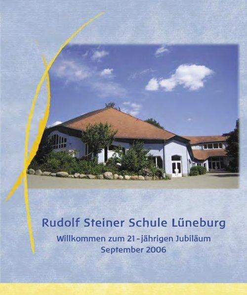 Jubilaeumsbroschuere.. - Rudolf Steiner Schule Lüneburg