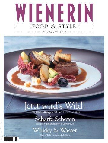 Jetzt wird's Wild! - bookacook :: Irene Weinfurter