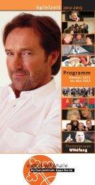 Programmheft Spielzeit 2012-2013 - Eppelheim