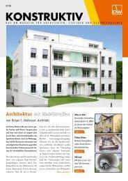 BRESPA-Decken - DW Systembau GmbH