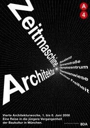 Abschlussfest der Architektur- woche - Vierte Architekturwoche A4