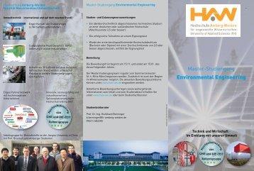 Flyer - Hochschule Amberg-Weiden
