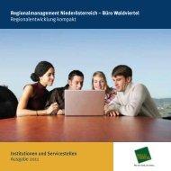 Regionalmanagement Niederösterreich – Büro Waldviertel ...