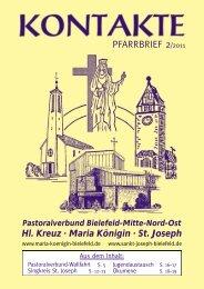 Pastoralverbund Bielefeld-Mitte-Nord-Ost Hl. Kreuz - Kath. Pfarramt ...