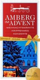 11-13 UHR 4. ADVENT, 18.12. - Stadtmarketing Amberg