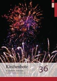 Nr. 36 Nobember 2012 - Februar 2013 - Nürnberg St. Leonhard ...