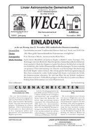 WEGA - Linzer Astronomische Gemeinschaft