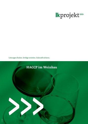 HACCP im Weinbau