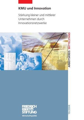 KMU und Innovation - Kompetenznetze