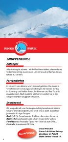 Prospekt Skischule Tuxertal - Seite 4