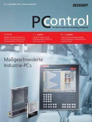 PC Control 03|2010 - PC-Control The New Automation Technology ...