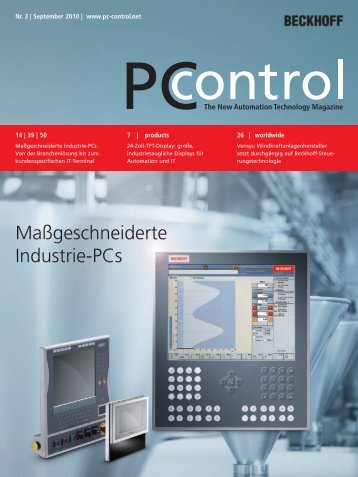 PC Control 03 2010 - PC-Control The New Automation Technology ...