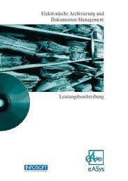 Elektronische Archivierung und Dokumenten-Management ... - eASys