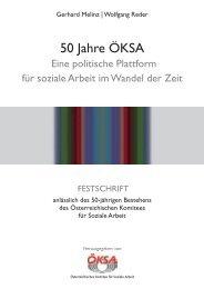 50 Jahre ÖKSA - Österreichisches Komitee für Soziale Arbeit